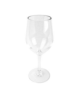 bicchieri da vino 300 ml Ø 6,1x21 cm trasparente policarbonato (24 unitÀ)