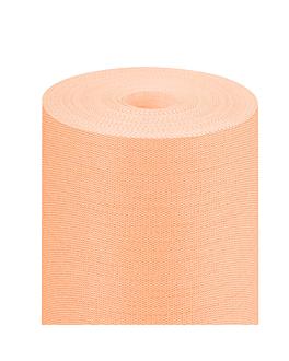 nappe 'like linen' 70 g/m2 1,20x25 m mandarine spunlace (1 unitÉ)