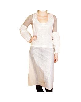 aprons in bulk 25µ 76x122 cm white peld (100 unit)