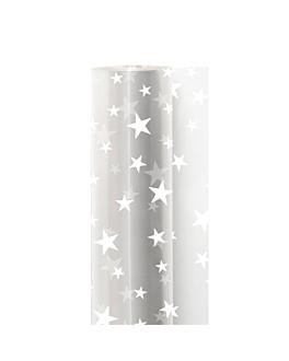 """film """"estrellas"""" 0,70x50 m transparente pp (1 unid.)"""