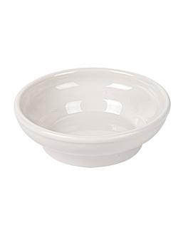 sauce bowls 150 ml Ø 10,2 cm ivory melamine (48 unit)