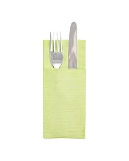 """serviettes """"cangurito"""" 'like linen' 70 g/m2 33x40 cm pistache spunlace (700 unitÉ)"""