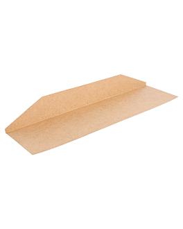 bandejas para bolsas 231.17 275 g/m2 30,5x12 cm natural kraft (250 unid.)