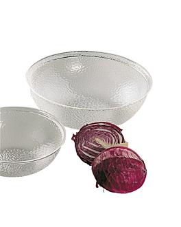 bowl Ø 45,5 cm clear polycarbonate (1 unit)