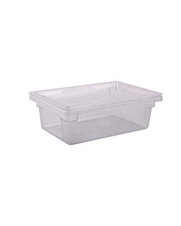 contenitore alimenti 12 l 45,6x30,2x15,2 cm trasparente policarbonato (1 unitÀ)