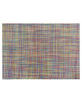 """table mats offset """"weave"""" 70 gsm 30x42 cm four coloured paper (2000 unit)"""
