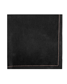 napkins f. 1/4 'cool-cotton' 140 gsm 40x40 cm black cotton (100 unit)
