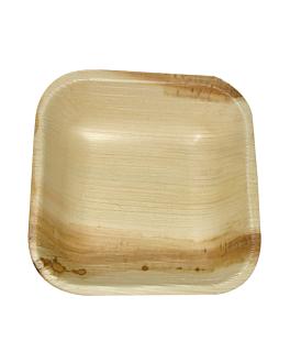 piatti quadrate 'areca' 10x10x2,5 cm naturale areca (200 unitÀ)