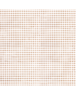 tablecloths folded m 'like linen - vichy' 70 gsm 100x100 cm taupe spunlace (200 unit)