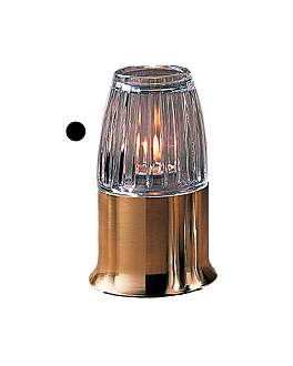 """lampshade """"casual lamps"""" Ø 7,3x8,4 cm clear glass (1 unit)"""