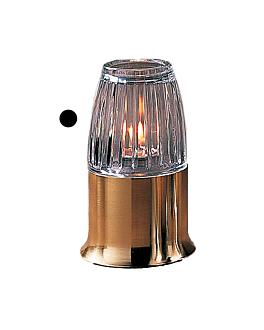 "pantalla ""casual lamps"" Ø 7,3x8,4 cm transparente cristal (1 unid.)"