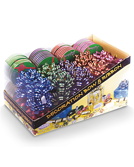 40 u. lazos + 24 rollos cinta (1 unid.)