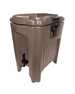 distributeur boissons isothermique 20 l 46x30x51,3 cm marron plastique (1 unitÉ)