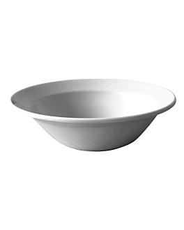 tiefer teller 175 gr. Ø 21x5,1 cm weiss melamin (48 einheit)