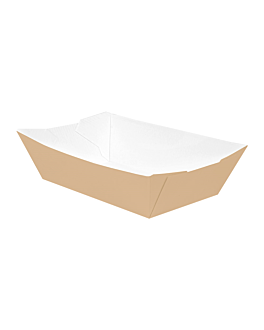 containers 'thepack' 180 g 220 gsm 9,2x5,3x3,4 cm natural nano-micro corrugated cardboard (2000 unit)
