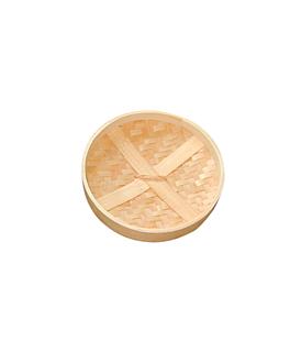 deckel maxi dampfgarer Ø 20x3 cm natur bambus (4 einheit)