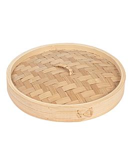 couvercles maxi dim-sum Ø 20x3 cm naturel bambou (4 unitÉ)