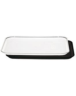 plateau pour coupole 35,7x46 cm noir polycarbonate (1 unitÉ)