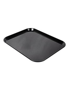 bandeja para cÚpula 35,7x46 cm negro policarbonato (1 unid.)