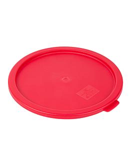 lid for item 164.81 Ø 22,9 cm red pe (1 unit)