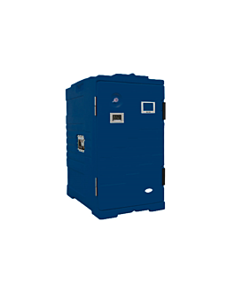 isothermal case 115 l 61x43x81 cm blue plastic (1 unit)