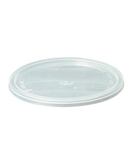 deckel schalen fÜr code 184.09 - 121.99 - 128.56 Ø 14,4 cm transparent pp (500 einheit)