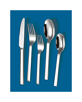 "dessert forks ""linea 2064"" 16cm/ 3,0 mm metal stainless steel 18% (12 unit)"