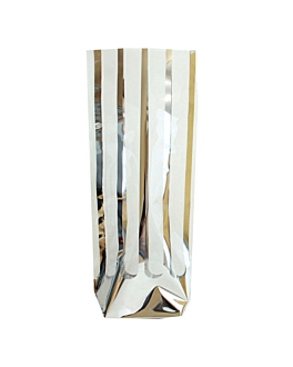 bolsas franja plata 31 g/m2 35µ 10x22 cm transparente pp (100 unid.)