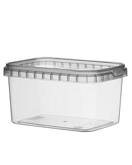 contenitori ermetico + coperchi 425 ml 12x8,8x6,9 cm trasparente pp (368 unitÀ)
