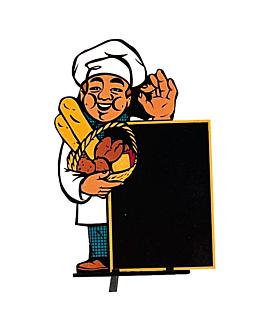 """cartelera exterior """"panaderia"""" 100x145 cm cuatricromÍa madera (1 unid.)"""