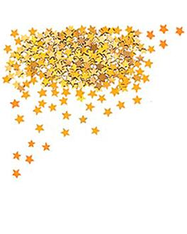 24 u. sacs 60 g etoiles  dore (1 unitÉ)