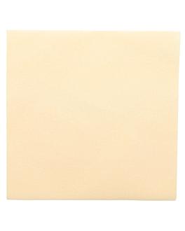 servietten 55 g/m2 45x45 cm elfenbein dry tissue (700 einheit)