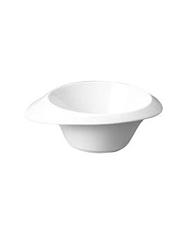 bol irregulier rond 25,4 cm blanc porcelaine (8 unitÉ)