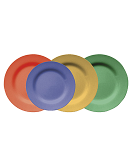 piatti Ø 15,3 cm rosso melamina (12 unitÀ)