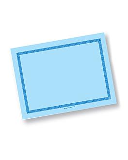 sets de table 60 g/m2 30x40 cm bleu ciel dry tissue (800 unitÉ)