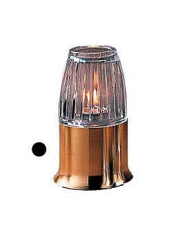 "base mat ""casual lamps"" Ø 9x6,5 cm dore chrome (1 unitÉ)"