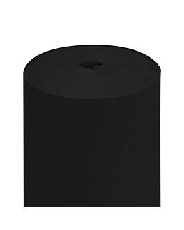 "maxi ""tÊte À tÊte"" pre. 120cm (20 ser.) 55 gsm 0,5x24 m black airlaid (6 unit)"