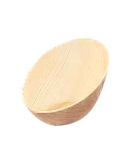 bol ovalado curvo 'areca' 160 ml 14x10x6,4 cm natural areca (200 unid.)