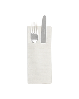 """serviettes """"cangurito"""" 'like linen' 70 g/m2 33x40 cm gris spunlace (700 unitÉ)"""