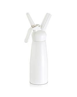 sifÃo creme de chantilli 1 l Ø 9,5x26,5 cm branco alumÍnio (1 unidade)