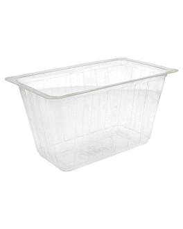 recipientes termosellables 1500 ml 20x12x11 cm transparente pp (450 unid.)