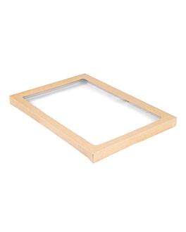 coperchi per scatole 253.17 300 g/m2 + pet 45,5x31,3x3 cm naturale kraft (50 unitÀ)