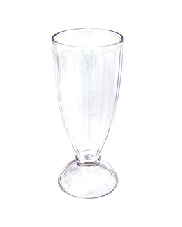 "bicchieri ""v-base"" 420 ml Ø 8x19 cm trasparente policarbonato (72 unitÀ)"