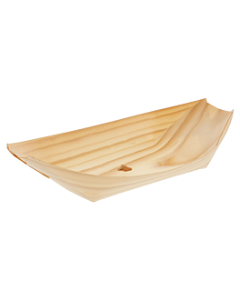 pine bark containers 22,5x11x3 cm natural wood (2000 unit)
