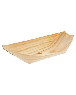 barquillas de hojuela de pino 22,5x11x3 cm natural madera (2000 unid.)
