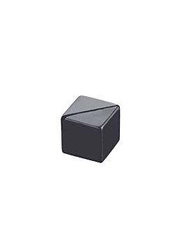 tabletop cubes 2,9 cm black acrylic (1 unit)