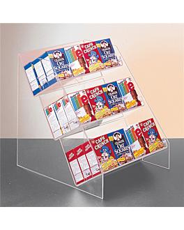 presentoir divers articles 32x41x38 cm transparent acrylique (1 unitÉ)