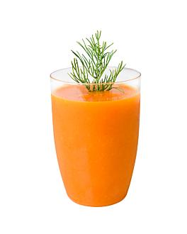 vasos inyectados aperitivos Ø 5,6x8 cm transparente ps (288 unid.)