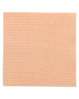 ecolabel napkins 'double point - miami' 18 gsm 20x20 cm clementine tissue (2400 unit)