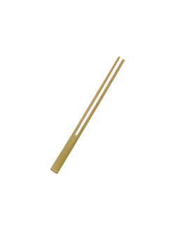 picks pinza 13,5 cm natural bambÚ (100 unid.)
